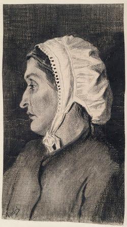 婦人の頭部vangoghmuseum-d0203V1962-800
