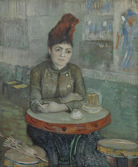 カフェタンブランの女vangoghmuseum-s0017V1962-800