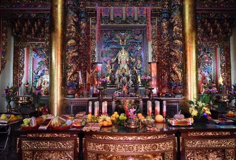 烏來の寺院
