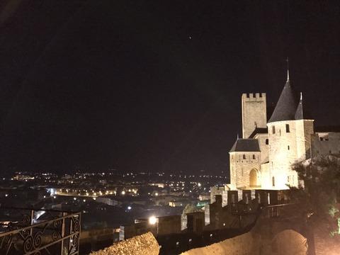 ライトアップのコンタル城3