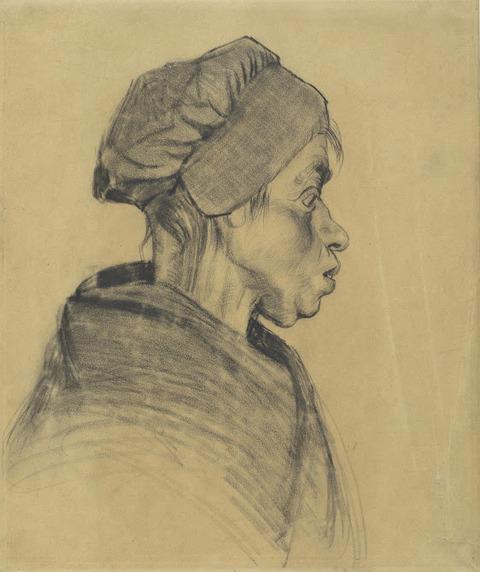 女性の顔vangoghmuseum-d0362V1962-800
