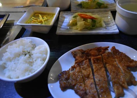 烏來ホテル夕食3
