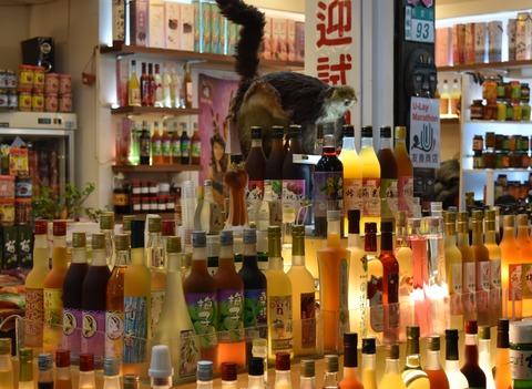 烏來商店街夜景2