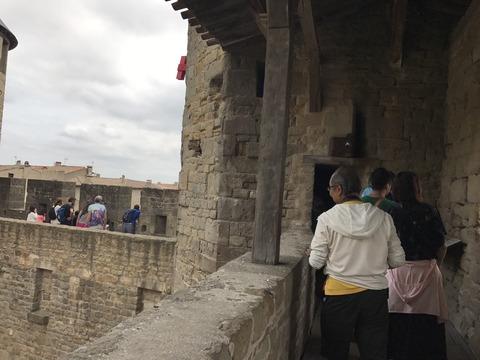 城塞上の繋ぎ