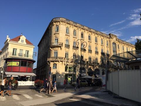テルミナスホテル外観
