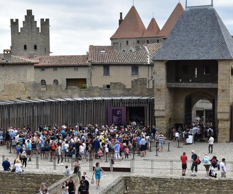 コンタル城入口