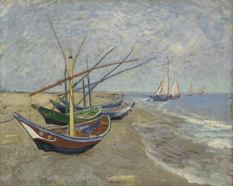 浜辺の釣り船vangoghmuseum-s0028V1962-800
