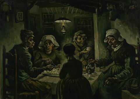 ジャガイモを食べる人々vangoghmuseum-s0005V1962-800