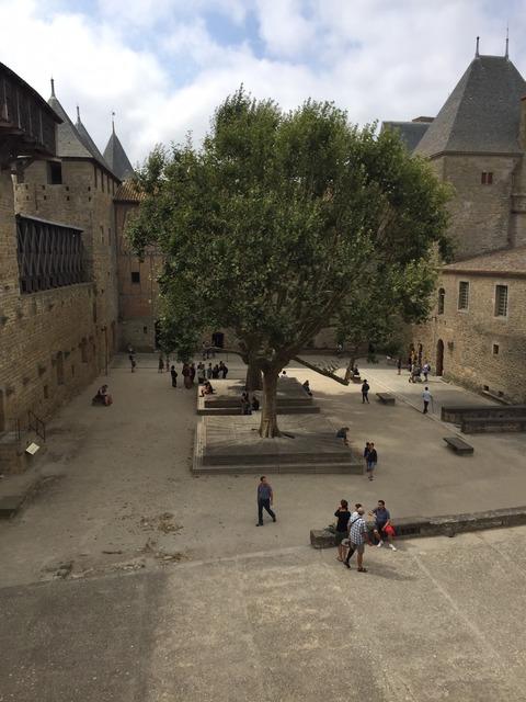 コンタル城からの風景
