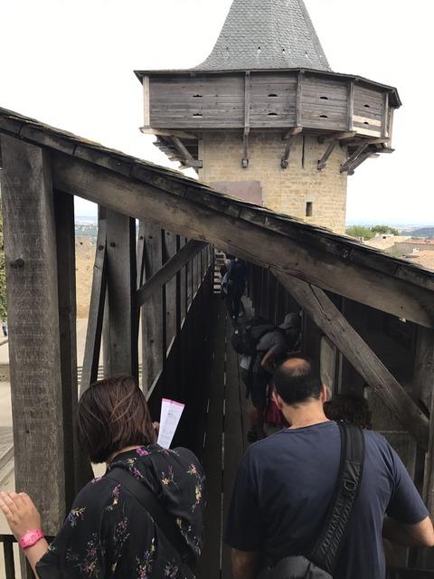 城塞から櫓