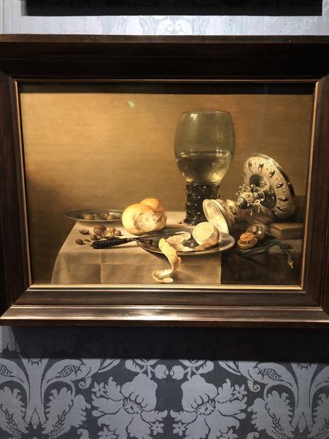 ピータークラウス「グラスのある静物」IMG_0519