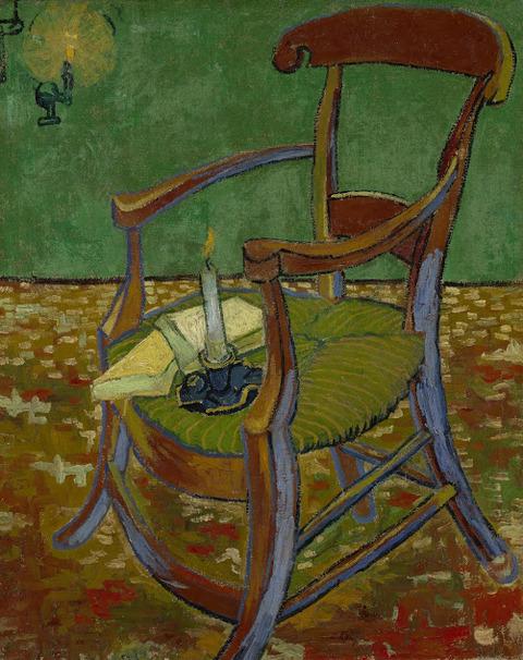 ゴーギャンのひじ掛け椅子vangoghmuseum-s0048V1962-800