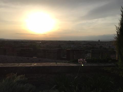 日没のカルカソンヌ