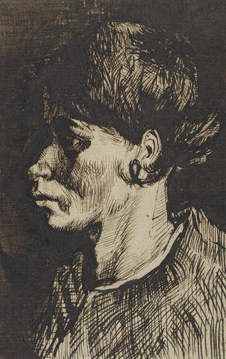 女性の顔(ペン)vangoghmuseum-d0271V1969r-800