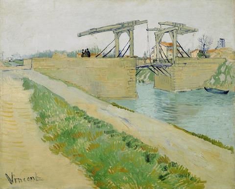 アルルの跳ね橋vangoghmuseum-s0027V1962-800