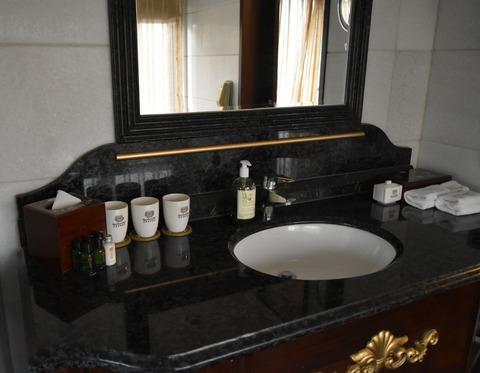ホテル洗面所