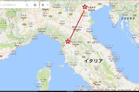 地図ベネチア