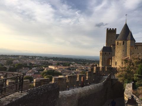 城塞から旧市街の眺め1