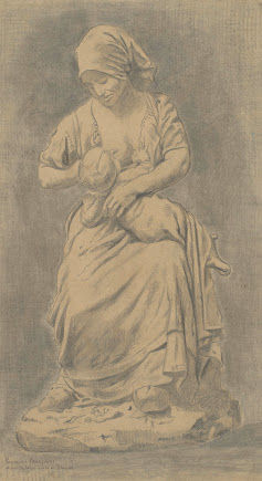 フランス農民の授乳vangoghmuseum-d0061V1962-800