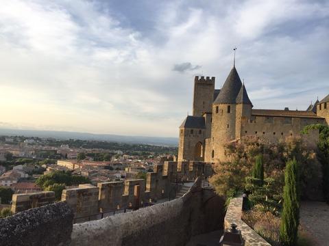 コンタル城から旧市街の眺め