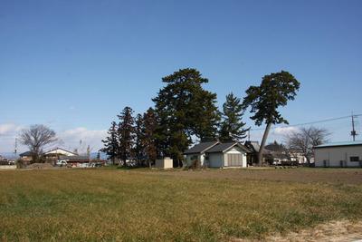 新田の神社