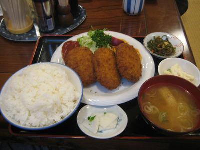 大阪屋のランチ