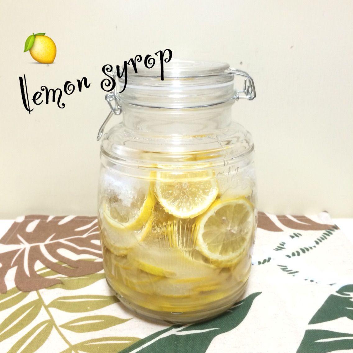 はちみつ レモン シロップ