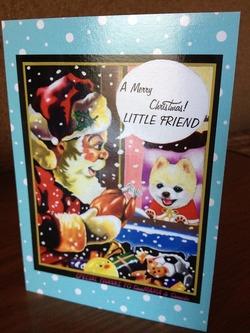 俊介くんからクリスマスカード届きました!
