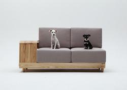 犬と同居のソファ!