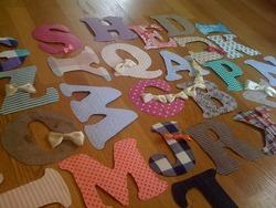 アルファベットを作った!