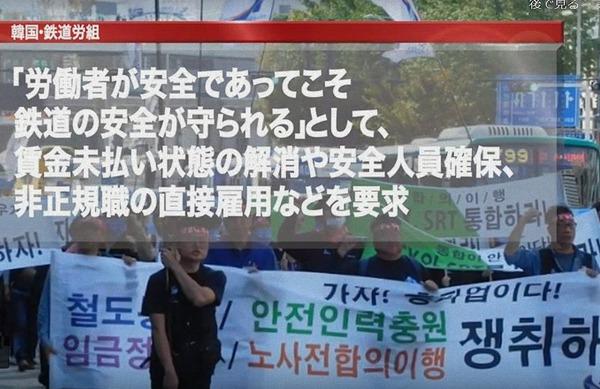 韓国鉄道労組