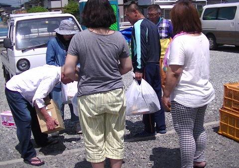 1-益城町救援物資を届けたところ