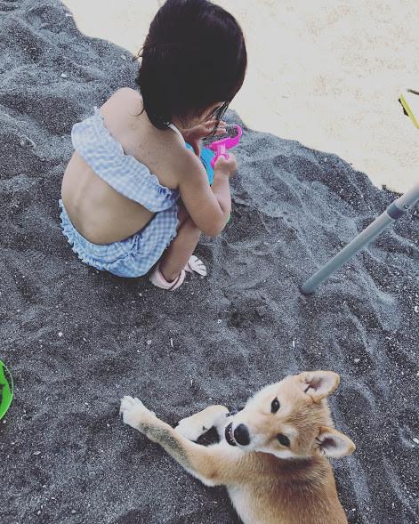 23砂遊び
