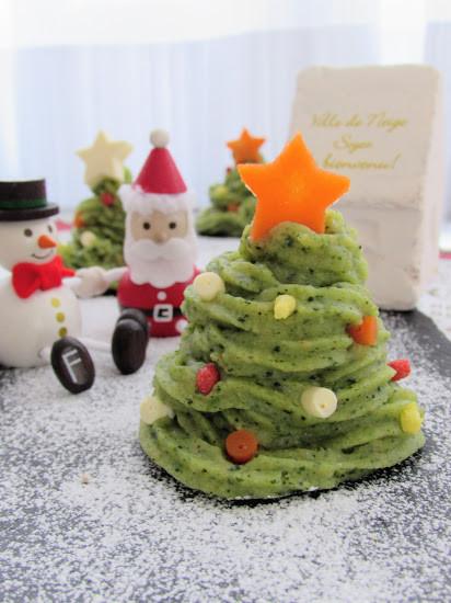 クリスマスツリーポテサラ