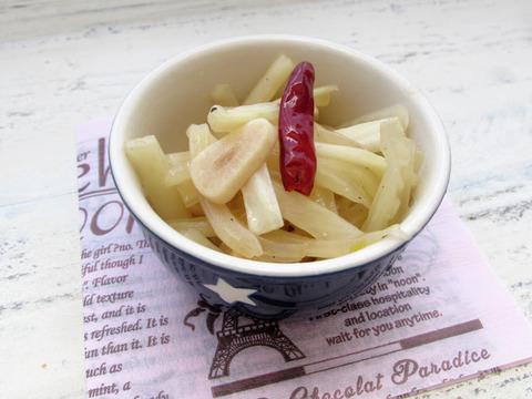 白菜ペペロンチーノ