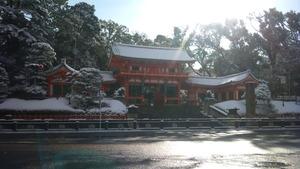 レコーディングした日の京都