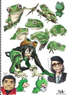 蛙吹梅雨とかカエル系