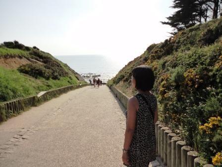 chemin vers la plage Penestin