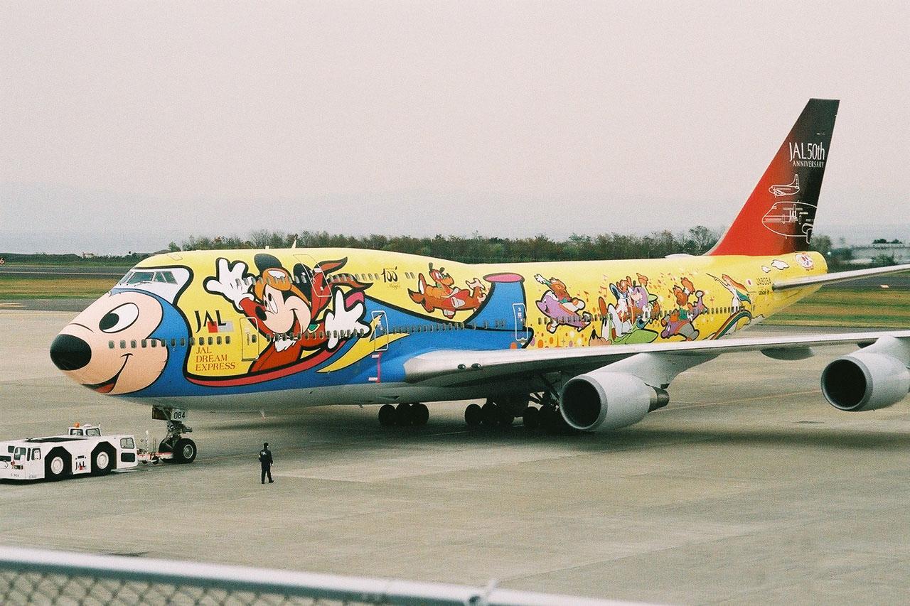 彡( ̄- ̄彡)ひゅるり~な minako's blog : ディズニー飛行機