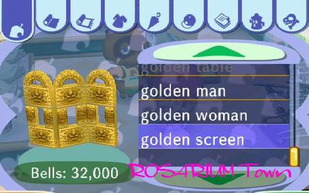golden screen