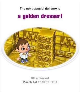 欧州:golden dresser