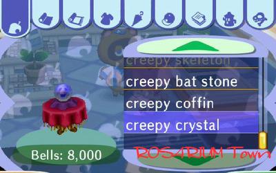 creepy crystal