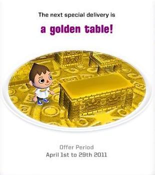 欧州 golden table