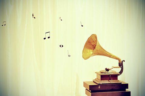 音符が出てくる蓄音機20140709