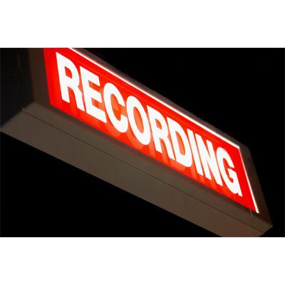 レコーディングランプ
