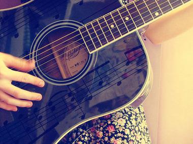 黒いギター