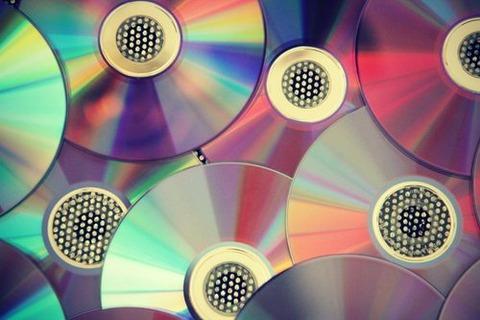 たくさんのCD
