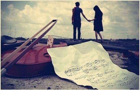 バイオリン外、カップル