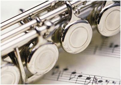 管楽器と楽譜