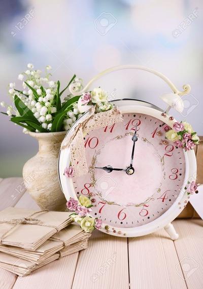 スズランと目覚まし時計